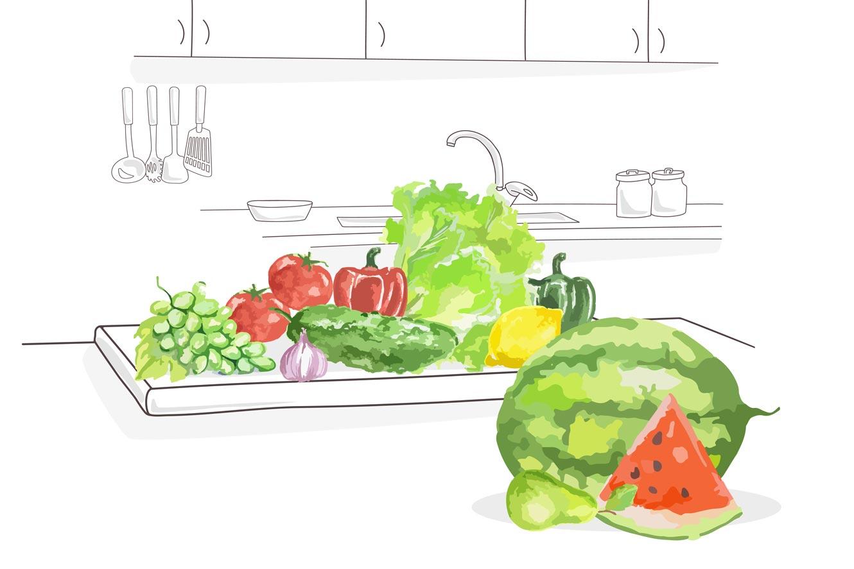 consumo fruta y verdura de temporda en verano