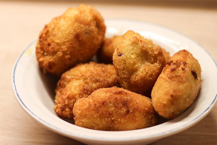 receta thermomix Croquetas de setas Shii-Take y pollo