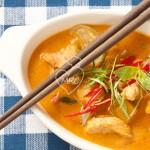 Curry Panang con cerdo