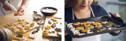 decorar galletas de mantequilla para halloween
