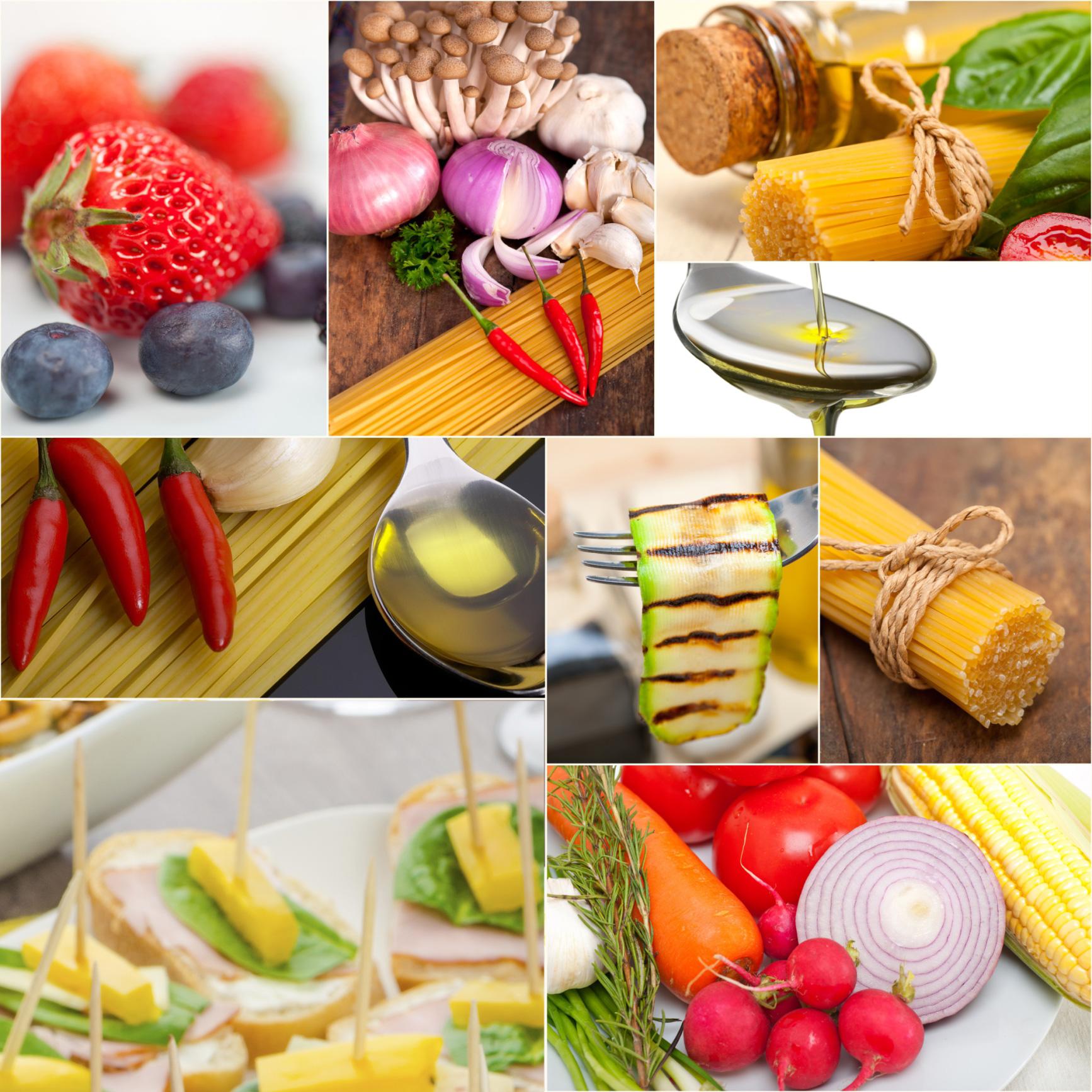 Las 10 recomendaciones de la dieta mediterranea