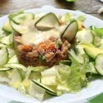 Ensaladilla quinoa con mahonesa de alcachofa