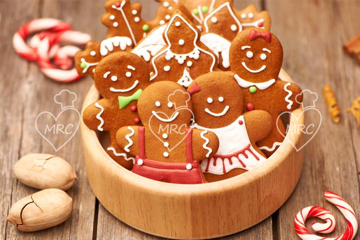 galletas jengibre muneco de navidad