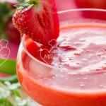Gazpacho de fresa
