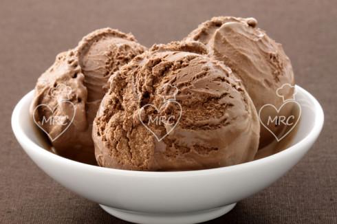 Helado crema de avellanas casera (nutella) preparado con Termomix