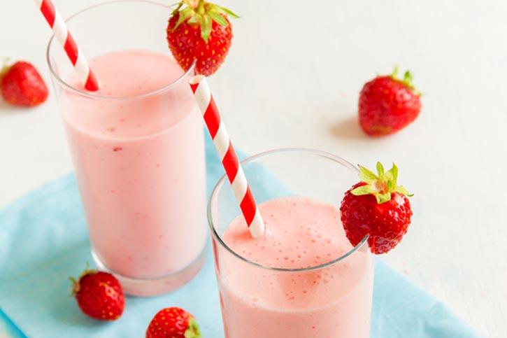 lassie de fresa sin lactosa receta thermomix