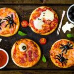 Mini pizzas terroríficas