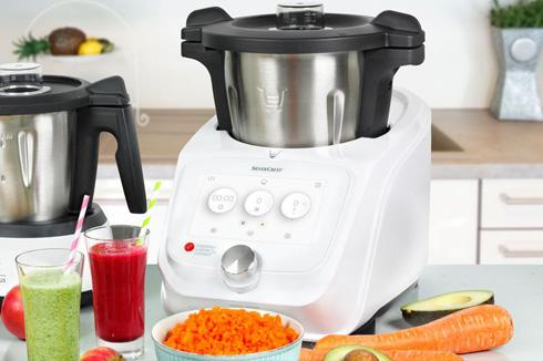 Monsieur cusine connect de Lidl cocinar con robot