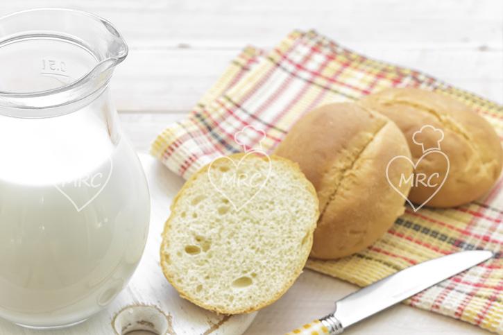 pan de leche con Thermomix