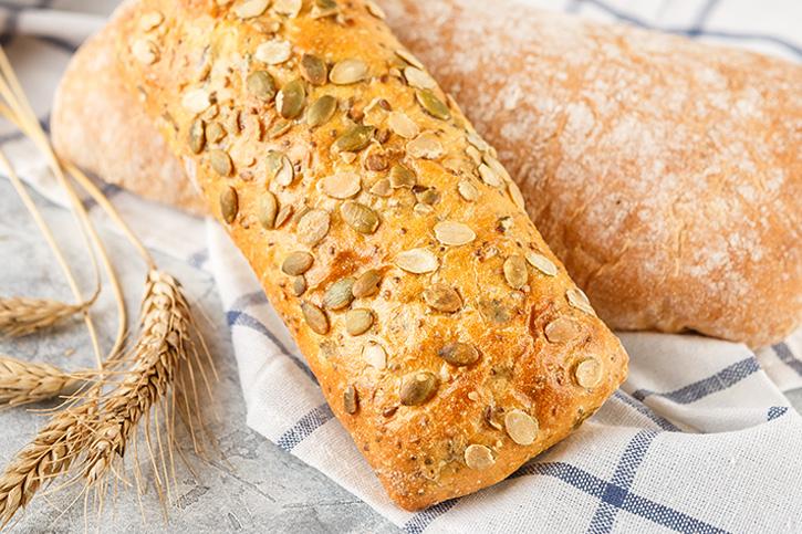 pan de espelta y calabaza