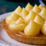 Masa sablée con crema de limón o lemon curd