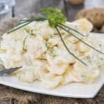 Patatas con mayonesa