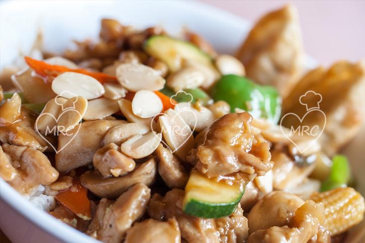 receta Thermomix TM5 TM31 pollo con almendra estilo chino