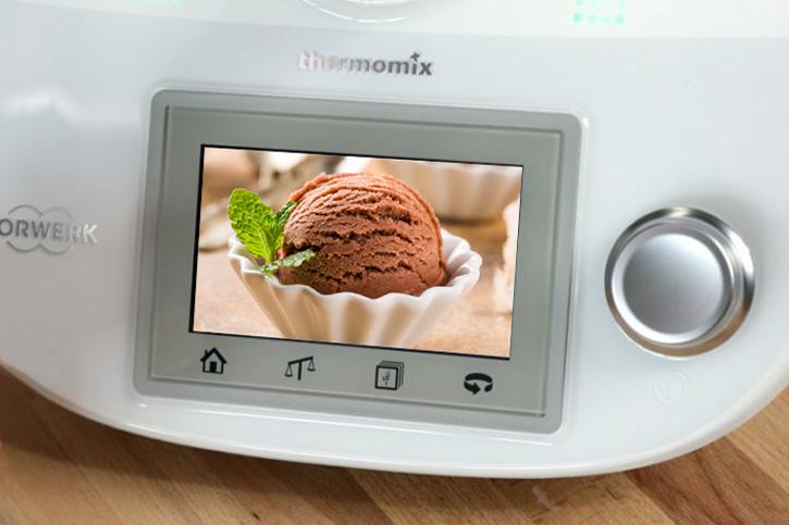 preparar helados caseros con thermomix