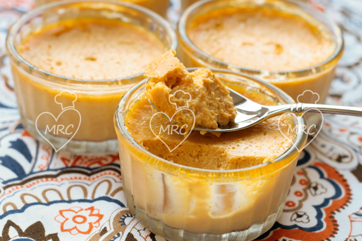 Receta Termomix TM5 o TM31 pudding o pudin de calabaza