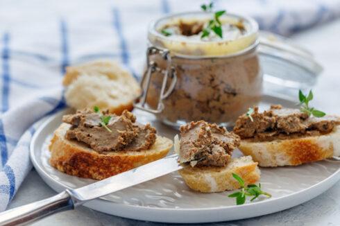 "receta foie gras vegano o ""faux gras""con thermomix"