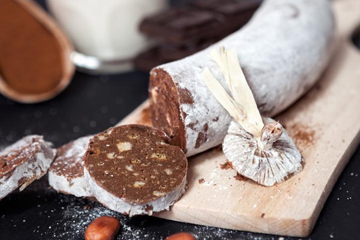 salchichon chocolate galletas receta thermomix