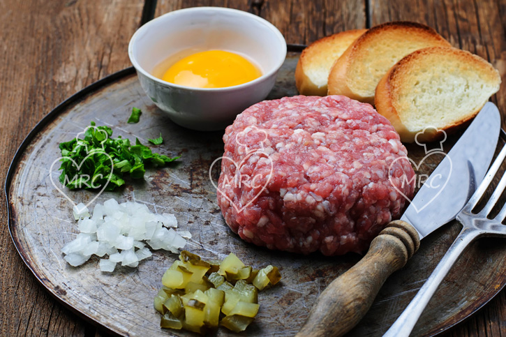 steak tartar de ternera con thermomix