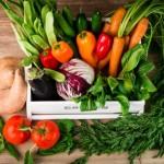 Consume verdura y fruta de temporada primavera