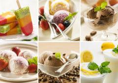Cómo preparar helados caseros