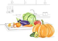 Consume verduras y fruta de temporada en otoño