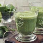 Batido verde de espinacas